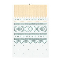 Marius Yellowgreen Tea Towel 35x50