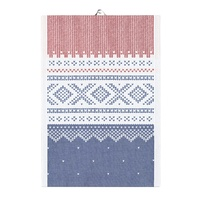 Marius Tea Towel red-blue 35x50
