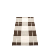 Ed Rug dark brown 70x140