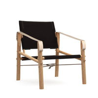 Nomad Chair black canvas