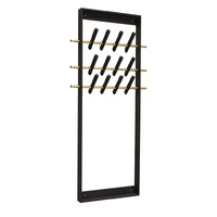 Coat Frame dark brass