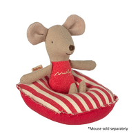 Rubber Boat Small Mouse Red Stripe
