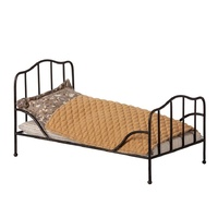 Vintage bed Mini Anthracite