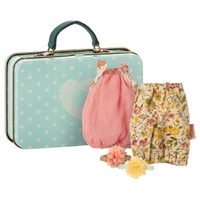 Suitcase with 2 Dresses micro