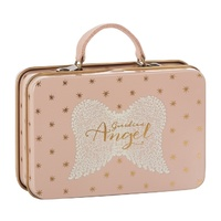 Metal Suitcase rose gold D