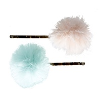 Bobby Pin 2pcs powder-mint