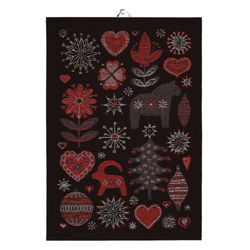 Julnatt 90 Tea Towel 35x50