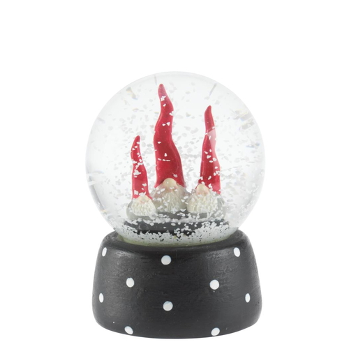 Santa high hat snowball triple