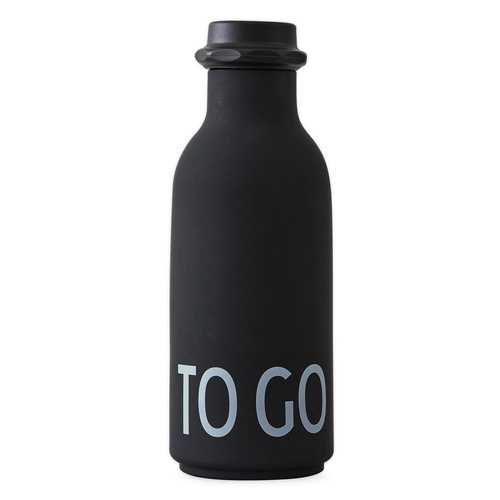 To Go Water Bottle Black