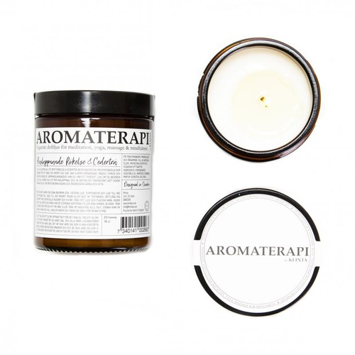 Aromatherapy Candle incense & cedarwood